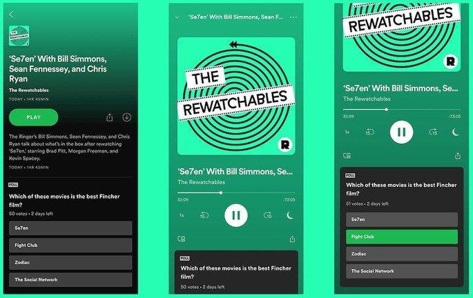 Podcasts spotify