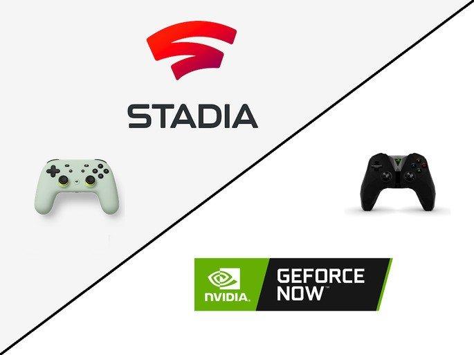 Google Stadia vs GeForce Now