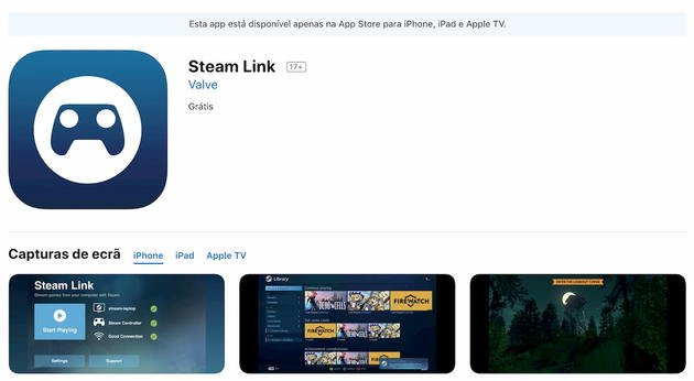 steam link app store apple