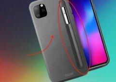 Steve Jobs ia ficar furioso! Novo iPhone Pro (11) poderá receber um Apple Pencil!