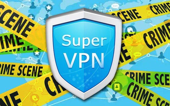 SuperVPN ALERTA Google Play Store Android