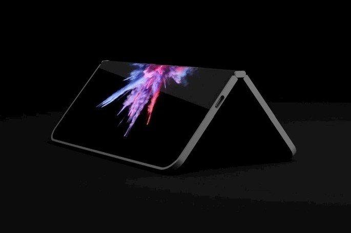 Surface dobrável Microsoft