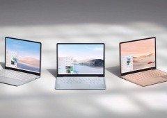 Surface Laptop Go foi apresentado. Elegância e preço são os seus trunfos