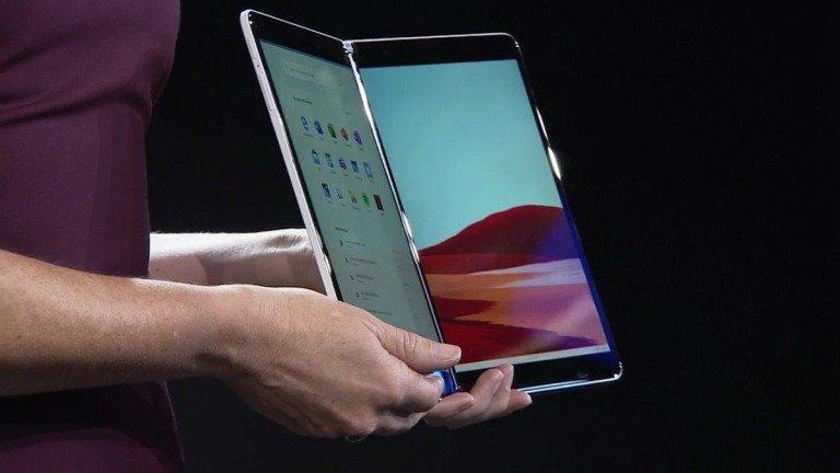 Surface Neo: tablet com dois ecrãs da Microsoft está em risco