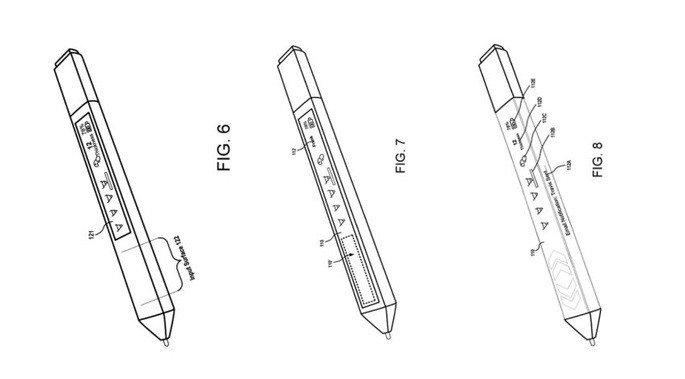 Surface Pen patente