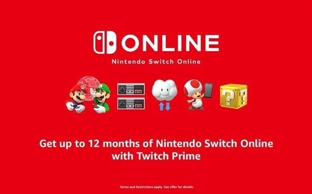 Nintendo Switch Online Twitch
