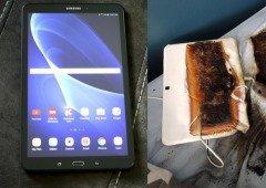 Tablet Samsung queima cama de criança ao carregar durante a noite