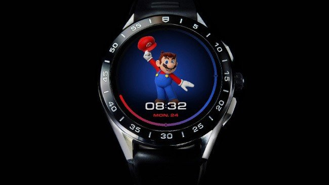 TAG Heuer Connected Nintendo smartwatch