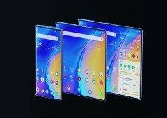 TCL Fold 'n Roll é o primeiro smartphone com ecrã dobrável e extensível