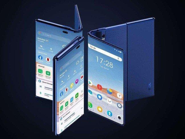 TCL Smartphone dobrável