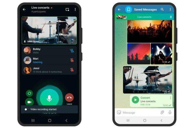 Telegram app