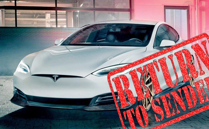Tesla novas políticas de devolução