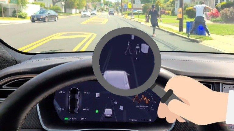 Tesla Autopilot recebe nova atualização com animações de peões bem mais realistas!