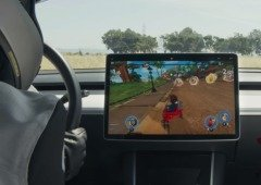 Tesla: Beach Buggy Racing 2 pode ser jogado com o volante e pedais do carro!
