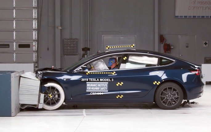 Tesla carro segurança
