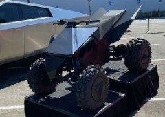 Tesla Cyberquad faz aparição em evento e deixa os fãs a sonhar!