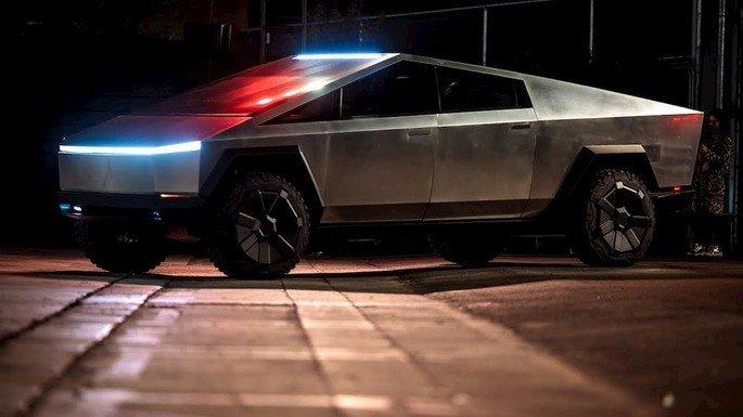Hummer elétrico Tesla Cybertruck