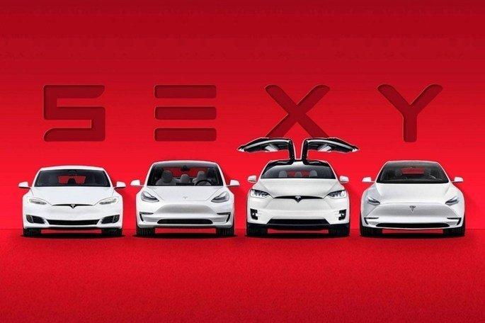 Alinhamento de Veículos Elétricos da Tesla