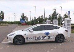 Tesla Model 3 bate recorde de distância viajada em 24 horas por um carro elétrico