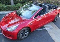Tesla Model 3 convertido para descapotável fica horrível e é extremamente caro!