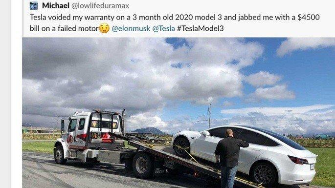 Tesla garantia