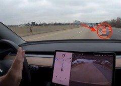 Tesla Model 3: vídeo mostra condução brutal do Autopilot em zona de obras!