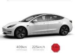 Tesla Model 3: vídeo mostra impressionante arranque dos 0 aos 100 com nova atualização!