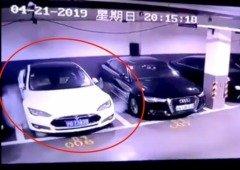 Tesla Model S incendeia-se no parque de estacionamento sem razão aparente (vídeo)