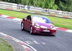 """Tesla Model S """"Plaid"""" destrói recorde do Porsche Taycan! Mas ainda não é oficial"""