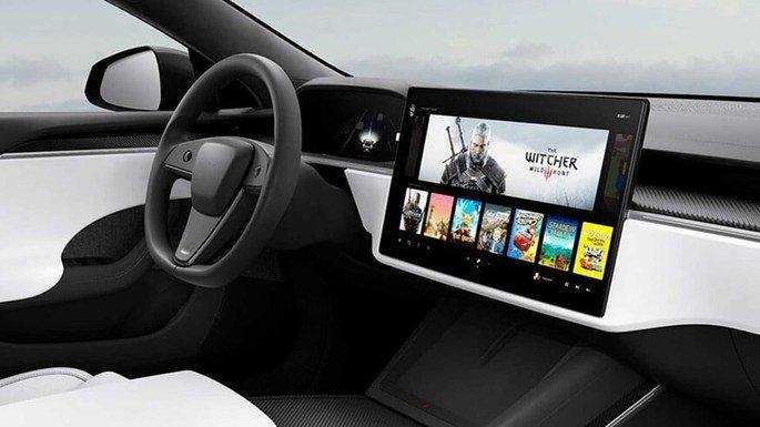 Imagem alegadamente encontrada no código do site da Tesla. Crédito: The Electrek