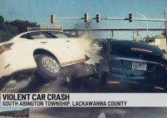 Tesla Model X salva vida da condutora em acidente aparatoso! (vídeo)
