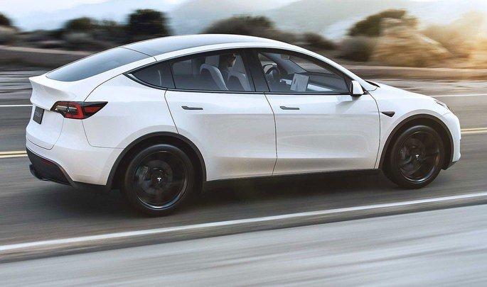 Tesla Model Y carros elétricos 2020
