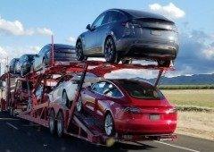 Tesla Model Y começam a ser entregues antes do previsto! Tesla continua a impressionar