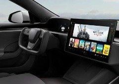 Tesla prepara plataforma gaming para carros elétricos com processador e gráfica AMD