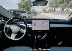 """Tesla V10 já chegou e os testes da funcionalidade """"Smart Summon"""" são polémicos! (vídeos)"""