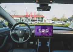 Tesla vai em breve trazer o Twitch, Mixer e HBO para os seus carros, seguindo o Netflix