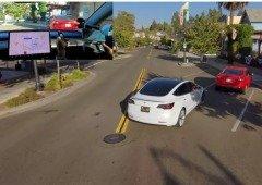 Tesla: vídeo de drone mostra que o piloto automático ainda tem que evoluir!