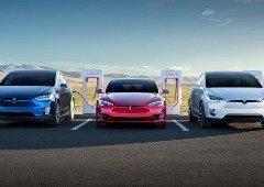 Tesla volta a oferecer carregamento ilimitado nas estações Supercharger