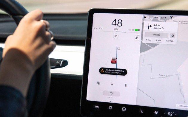 Tesla Model 3 atualização