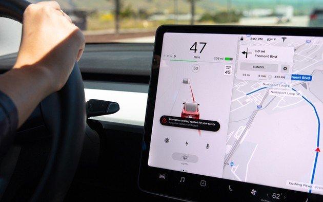 Tesla Model 3 funcionalidade segurança