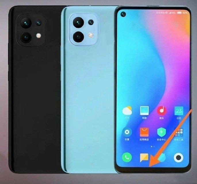 Design do Xiaomi Mi 11 Lite, segundo os rumores