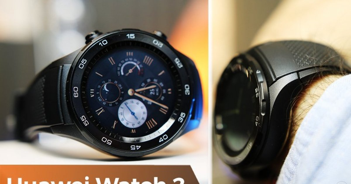 3562c82fa17 Huawei Watch 2 - Android Wear 2.0