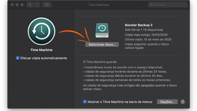 Apple Time Machine macOS