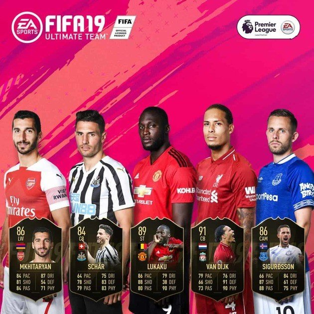 fifa 19 ultimate team totw 25