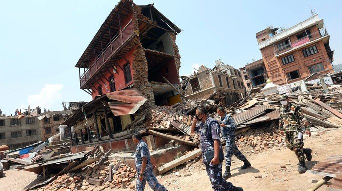 tremores de terra