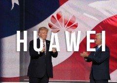 Trump deixa presente de despedida à chinesa Huawei