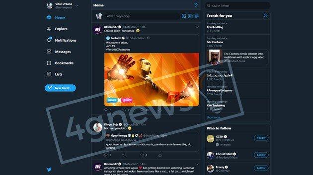 Twitter Novo design