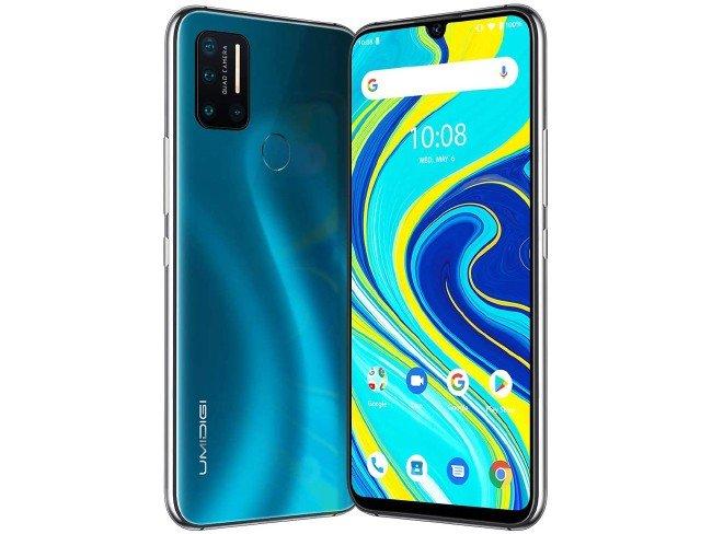 telemóvel UMIDIGI A7 Pro em azul
