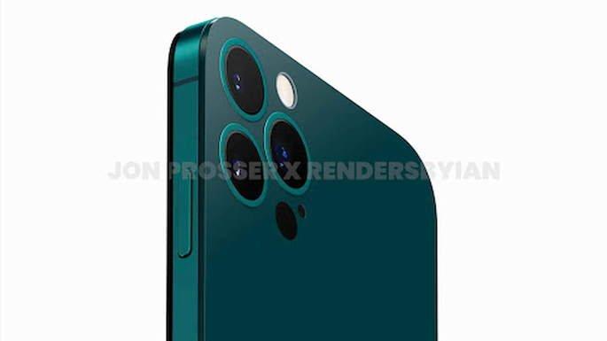 Renderizações não oficiais do iPhone 14