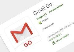 """Utilizas o Gmail no teu smartphone Android? Está na hora de instalares a nova versão """"Go"""""""